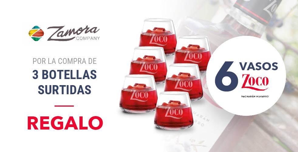 Oferta Zamora-Vasos