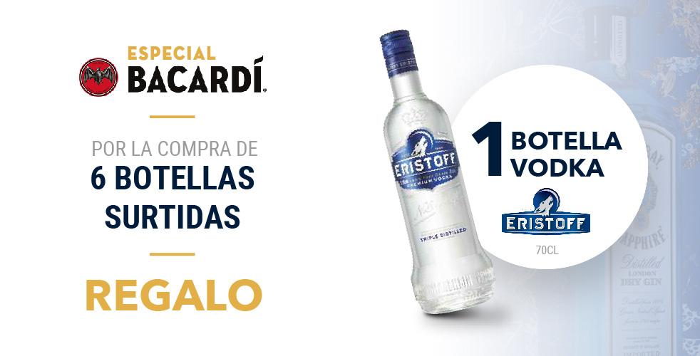 Especial Bacardí - Eristoff
