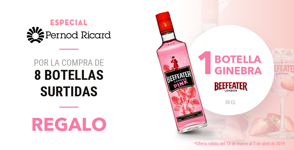 Especial Pernod Ricard – Beefeater Pink