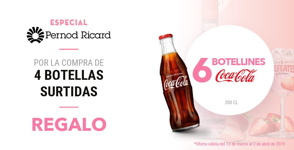 Oferta Pernod Ricard – Cocacola