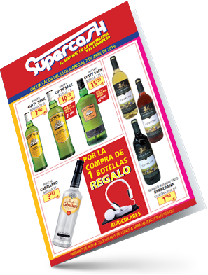Ofertas Supercash  / marzo – abril