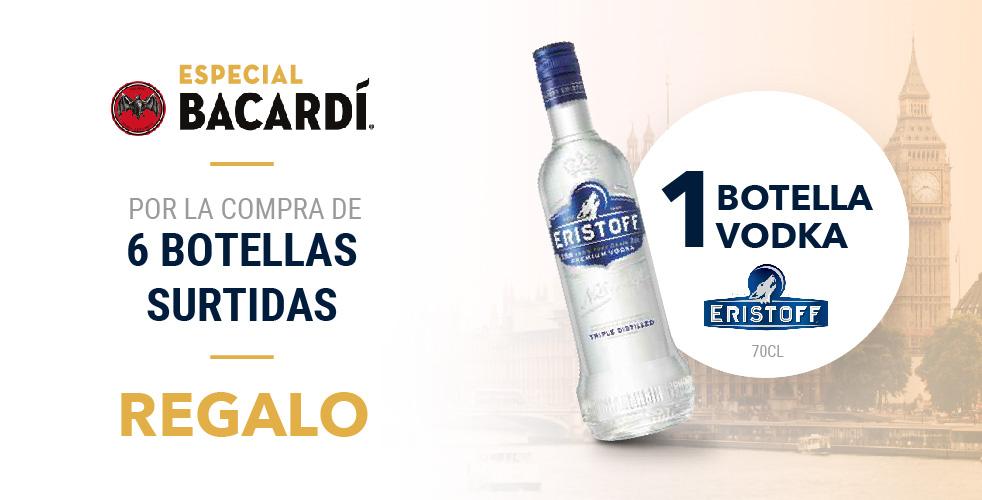 Especial Bacardí – Eristoff (Sept-Oct)