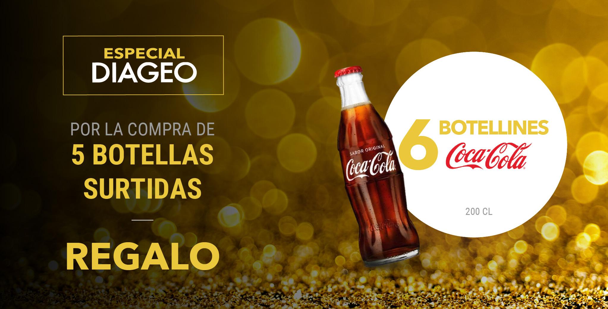 Especial Diageo – Botellas Coca-Cola