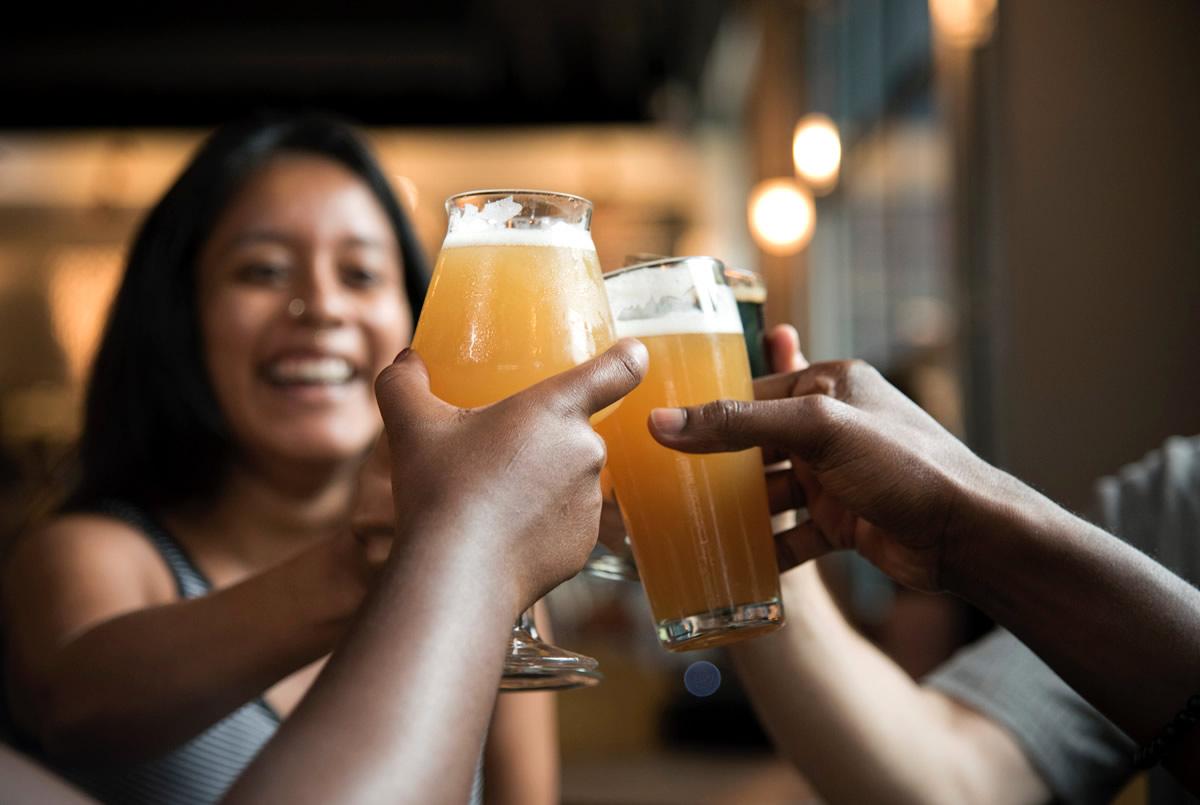 tipos de vasos de cerveza