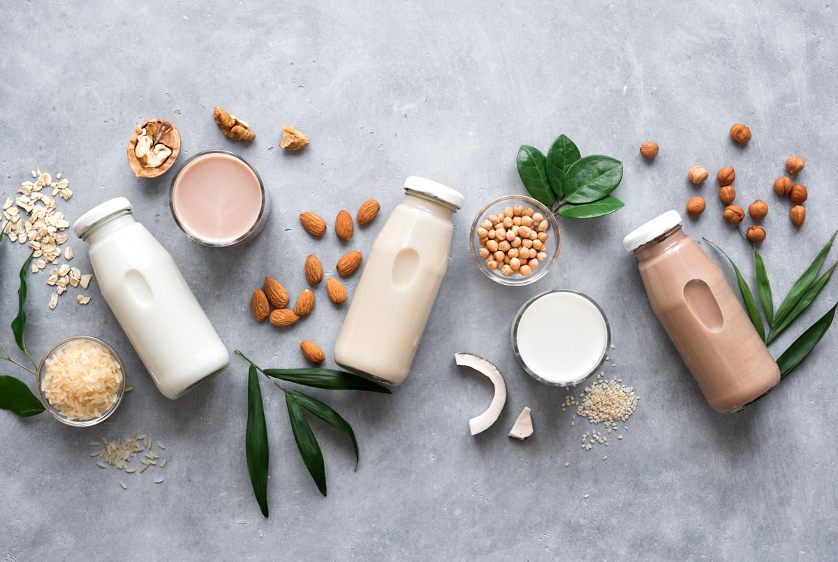 tipos de leche para cafe variedades