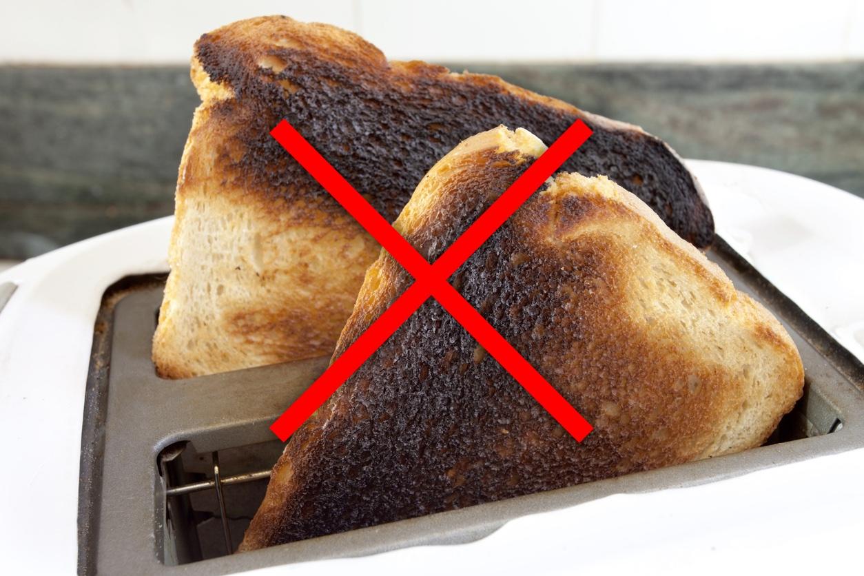 Cómo evitar la acrilamida en los alimentos