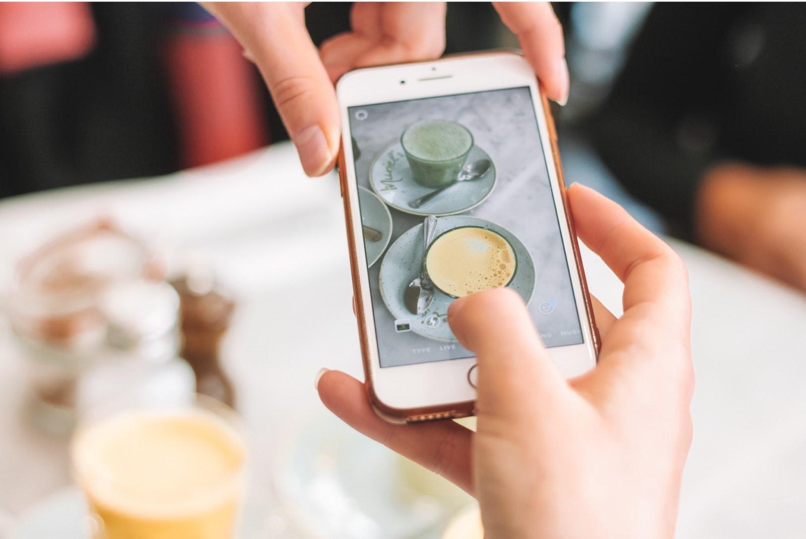 Presencia de un restaurante en redes sociales