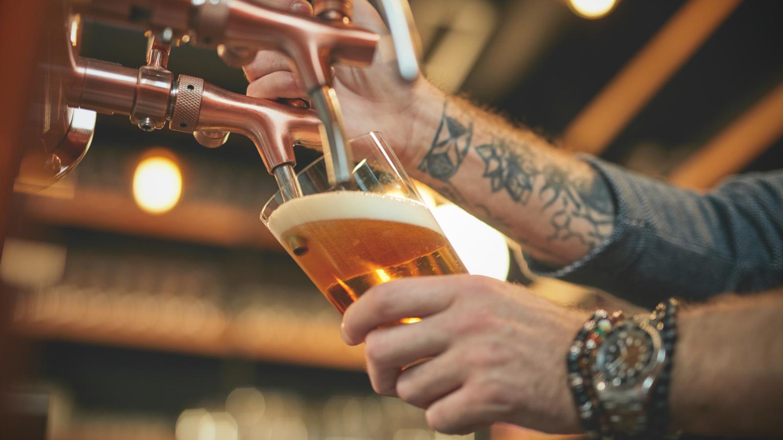 Acondicionamiento de barriles de cerveza