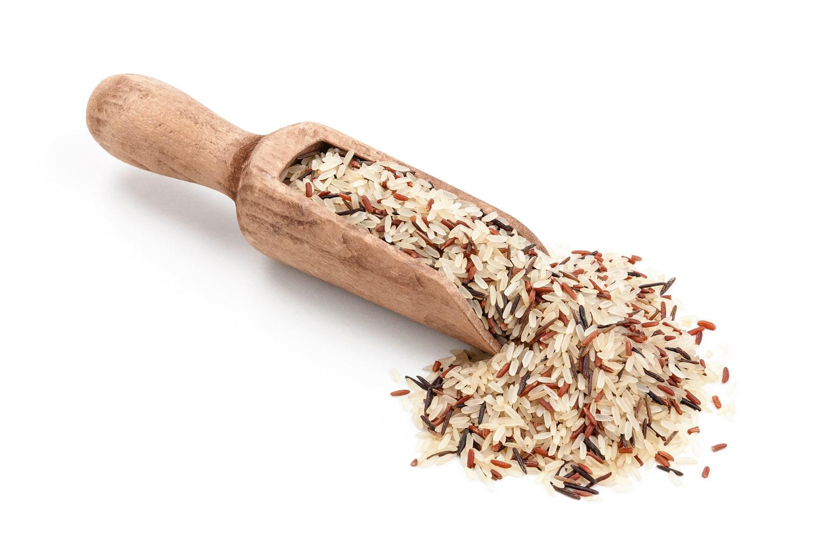 arroz integral y salvaje